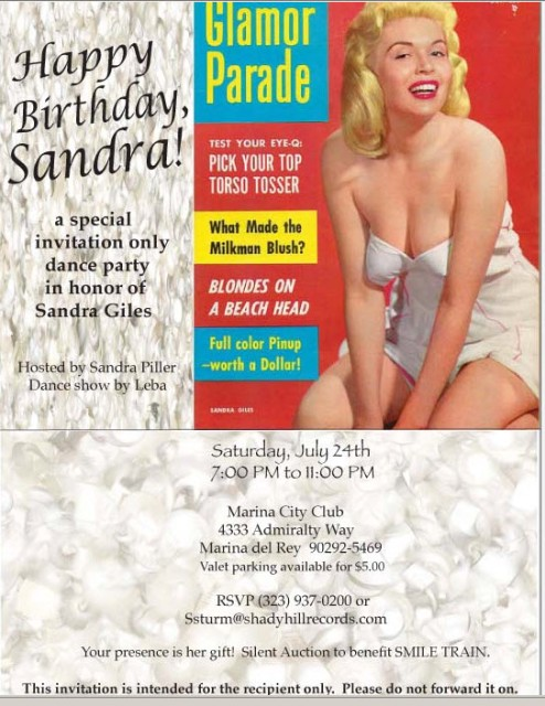 Sandra Giles Birthday Bash